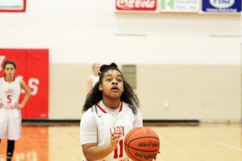 Girls Last Home Basketball Game