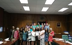 LCG honored at courthouse